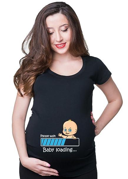 7f2a0c59d Silk Road Tees Embarazo de Las Mujeres Camiseta del bebé Cargando Superior  de la Maternidad