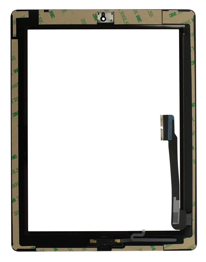 iPad 4 Screen Replacement Glass Touch Digitizer Premium Repair Kit with Tools and Home Button by RepairPartsPlus (Black) by RepairPartsPlus (Image #2)
