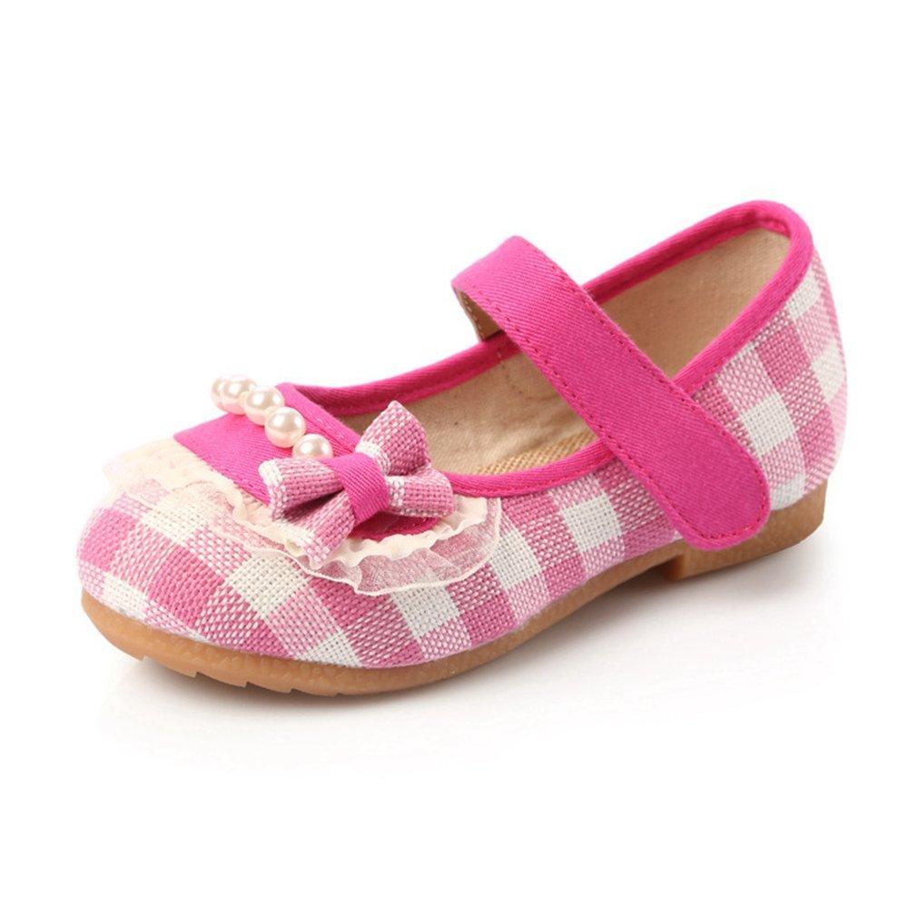 CYBLING Girls Mary Jane Shoes Ballerina Ballet Flats Breathable Princess Dress Shoe (Toddler/Little Kid)