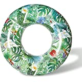 """DMAR Forest Swim Ring For Adults Inflatable Rubber Ring Giant Pool Float Water Toys 103cm/40.5"""""""