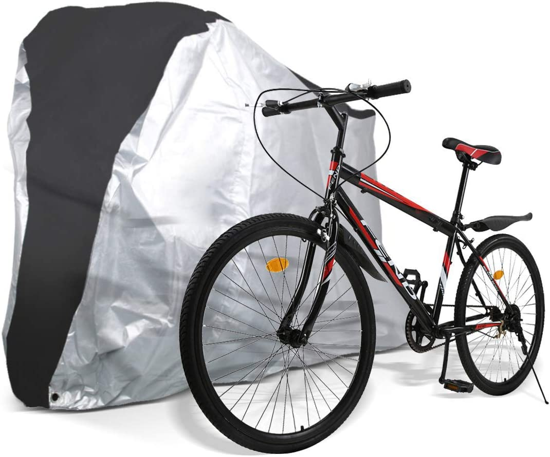 DIYARTS Bike Dust Cover Cycling Bike Wheels Dust Proof Scratch Proof Cover Indoor Protective Gear Storage Bag Black