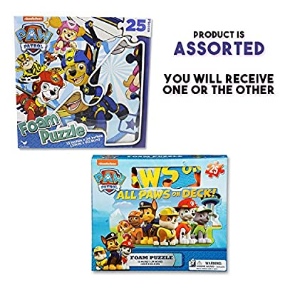 Gift Item Paw Patrol Foam Floor Puzzle by Cardinal (25 Piece), Multicolor: Toys & Games
