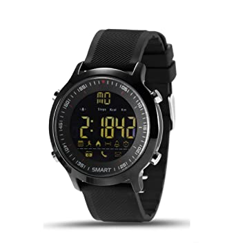 Elftear EX18 Smart Watch Men Sport Watch 5ATM Waterproof Bluetooth 4.0 Smartwatch Call Reminder Camera Remote