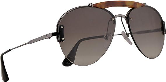 Auroch Muñeco de peluche ir de compras  Amazon.com: Prada PR62US - Gafas de sol (metal, 1.260 in, 2990A7 PR 62US SPR  62U SPR62U): Clothing