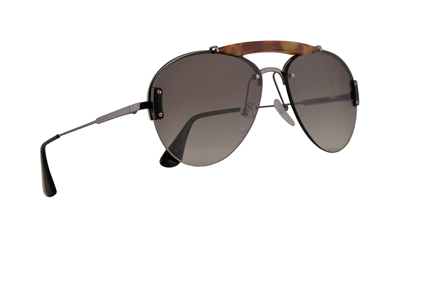 ece298754e Amazon.com  Prada PR62US Sunglasses Light Havana Gunmetal w Grey Gradient  32mm Lens 2990A7 PR 62US SPR 62U SPR62U  Clothing