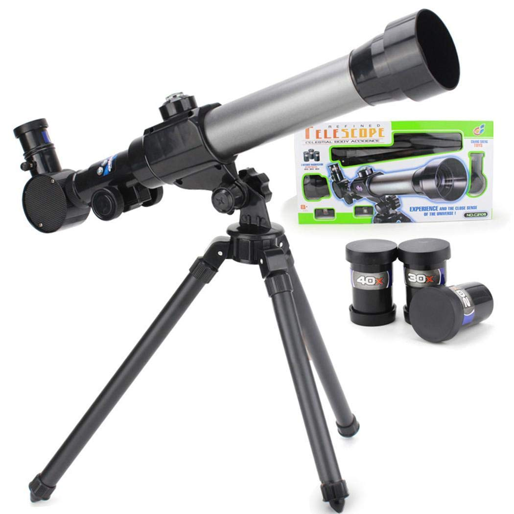 Kaimu Children Practical Telescope Toy with 360 Degree Rotation Tripod Educational Toy Night Vision Binoculars & Goggles