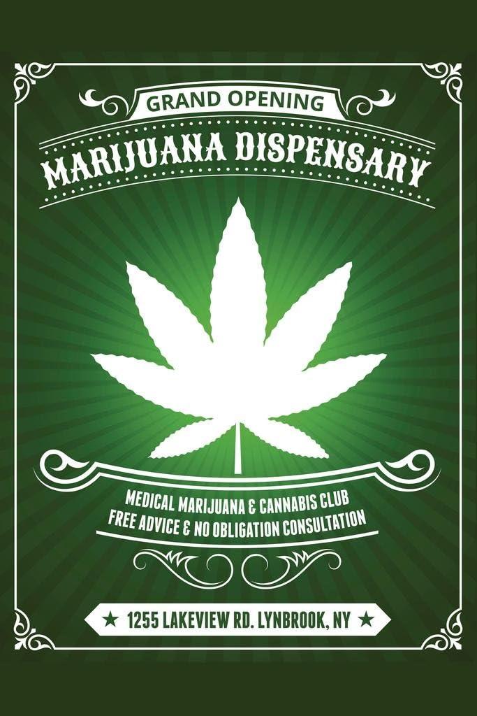Marijuana Dispensary Medical Marijuana and Cannabis Club Cool Wall Decor Art Print Poster 24x36