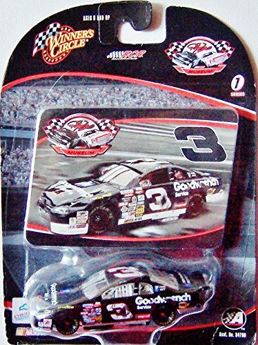 Dale Earnhardt Sr #3 Crash Car 1997 Daytona 500 Race GM GW Service 1/64 Scale Diecast RCR Museum Series 1 Sticker Edition Winners Circle
