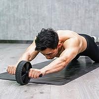 Big seller AB Roller Abrad/Trainingsrad, Core Bauchtrainer, perfekte Rolle für Core und Ab Training, Cross Fitness, Gewichtheben, Fitness. AB Roller Bauchtrainer