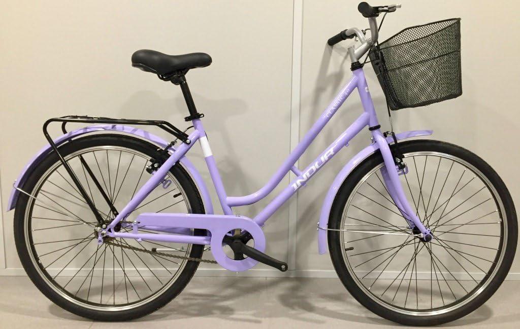 Esmaltina 2665403031 - Bicicleta City 26 indur Steel 6 velocidades ...