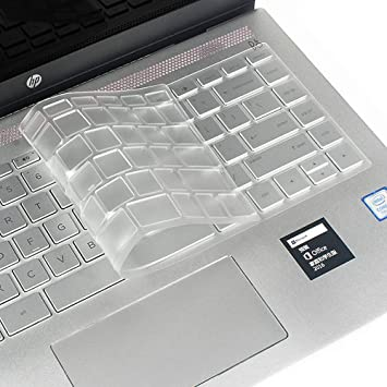 Laptop Keyboard Cover Compatible for HP Pavilion X360 14 Inch Notebook Protective Skin TPU Clear Film,Clear