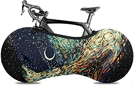 LisaArticles Cubierta De Bicicleta,Trippy Painting Naked Galaxy ...