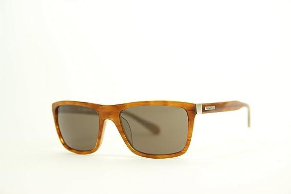 La Martina Unisex-Erwachsene Sonnenbrille LM-53002, Braun (Tortoise), 56