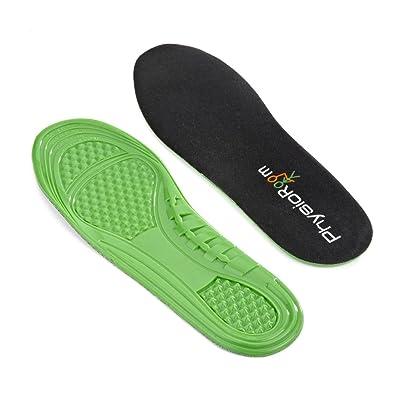 Semelle ultra-résistante , extra confort|Le gel polymère bloque les vibrations et protège des chocs|Idéale pour la marche à pied et la randonnée|Design profilé, s'ajuste &agrav