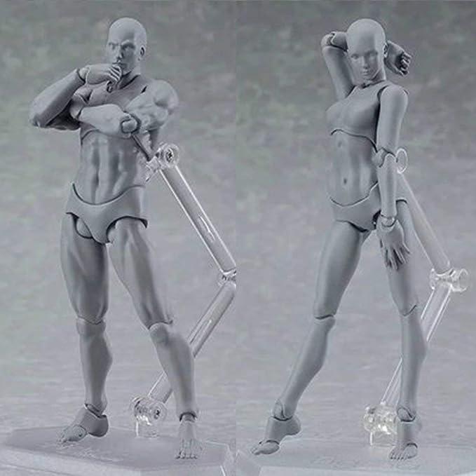 FIGUARTS SHF cuerpo Kun DX Set Gris//los colores de piel Figura de Acción Regalo Genial Ella//él S.H