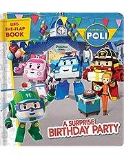Robocar Poli: A Surprise Birthday Party: A Lift-the-Flap Book