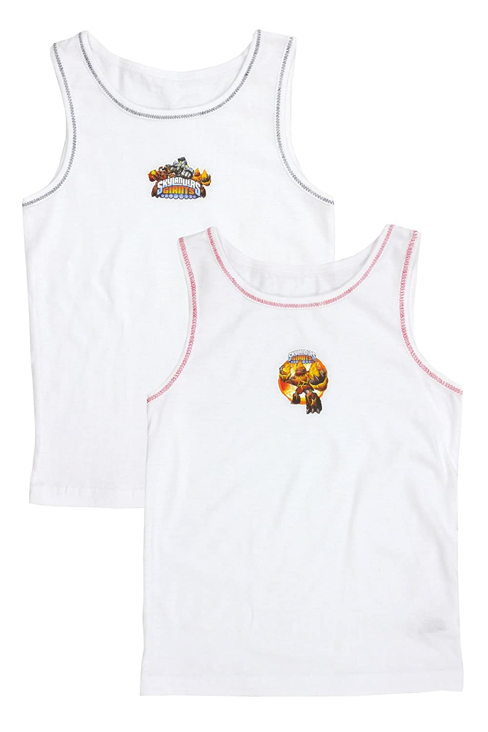 Cartoon Character Products Pack of 2 Skylander Giants Cotton Vests