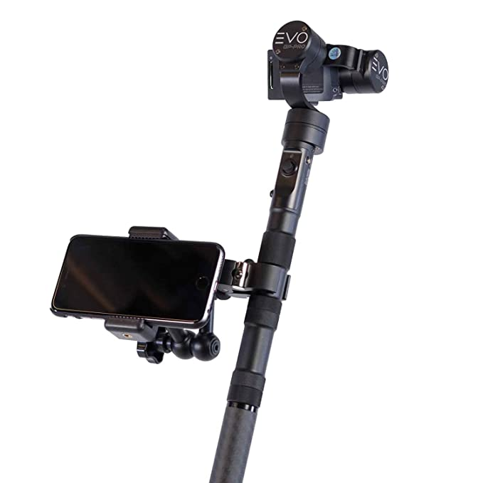 EVO Gimbals Pro Mount for Smartphones & Field Monitors - Works with Most  Handheld GoPro Gimbals, DSLR Stabilizers and More!