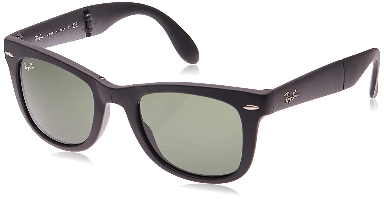 Amazon.com: Ray-Ban RB4105 Folding Wayfarer anteojos de sol ...