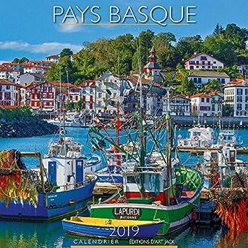 0a632232b38d CALENDRIER 2019 PAYS BASQUE - COTE ATLANTIQUE - BIARRITZ - BAYONNE - LA  RHUNE - FORET