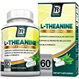BRI L-Theanine 200mg Supplement Enhanced with 100mg Inositol for Relaxation, Anxiety and Stress Relief, Restful Sleep and Mood Boost – 60 Veggie Caps Review