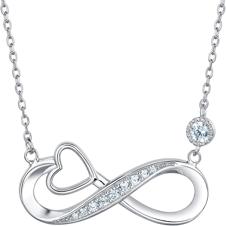 women necklace,silver Infinity women necklace 925 sterling silver infinity symbol loved Necklace Infinity loved necklace,handmade neckalce