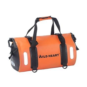 75d93e8e4 WILD HEART Waterproof Bag Duffel Bag 30L with Welded Seams Shoulder Straps,  Mesh Pocket for