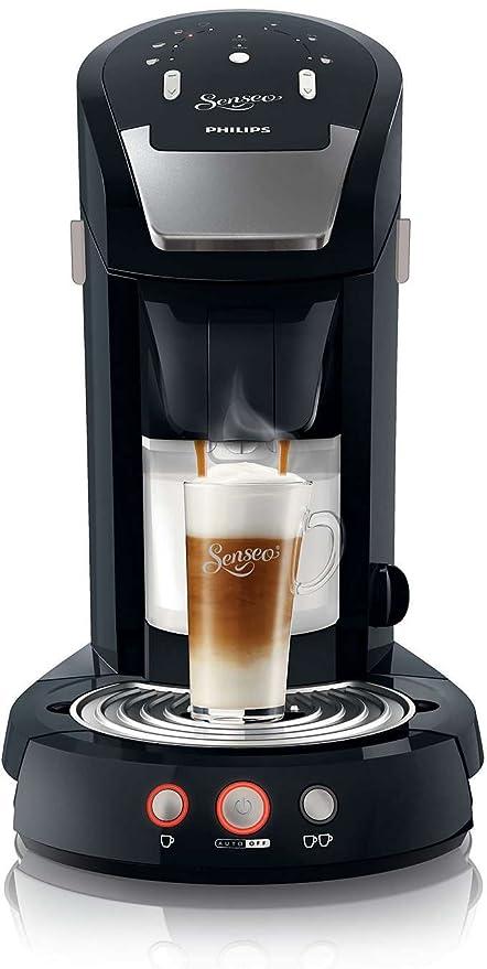 Philips Senseo Latte Select - Cafetera monodosis, color negro ...