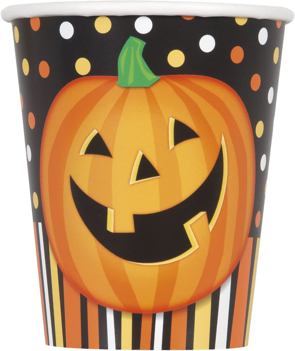 Souriant citrouille Halloween Fournitures de f/ête