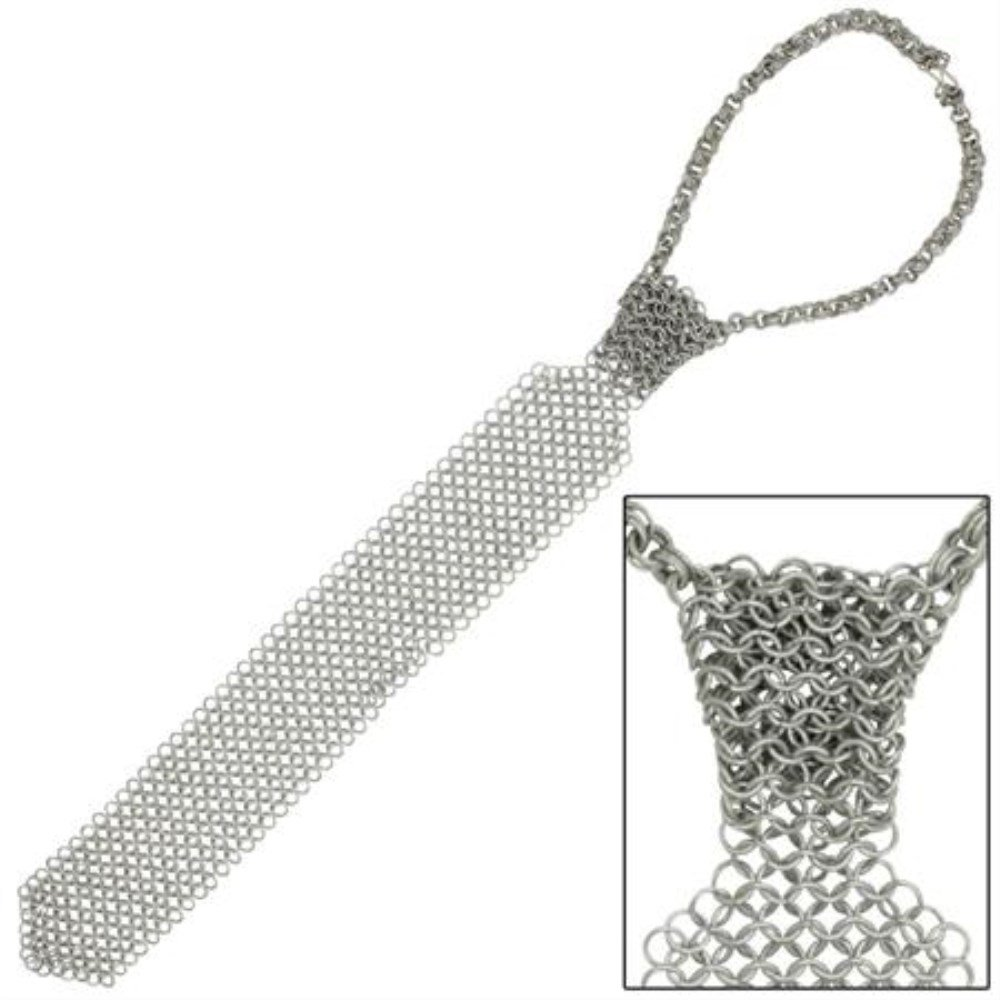 Medieval Chainmail Business Tie