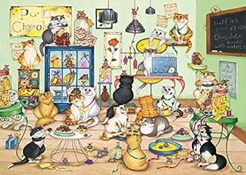 Gibsons G6164 - Herrero, L.J.: Compartir Puzzle 1000 - gatos ...