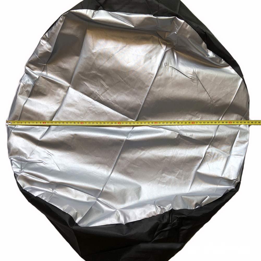 Reifen-Ersatzabdeung 1//2 // 4Stk staubdichter Reifenschutzbezug Aufbewahrungsbeutel Radschutz Auto Leichtgewicht 1 st/ü elastischer Reifenkoffer UV-best/ändiger Wasserdichter