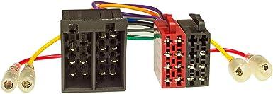 tomzz Audio 2439-092 El juego de bisel de la radio se ajusta al Opel Corsa d Astra h Zafira b cromado mate con adaptador Quadlock iso cargador USb adaptador de antena Fakra phantom power dIN iso soporte de desbloqueo