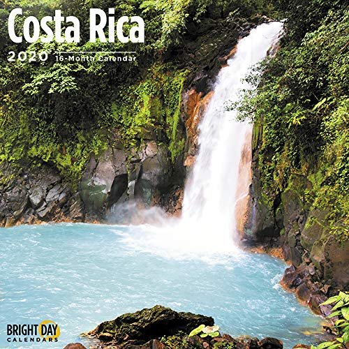 2020 Costa Rica 16 Month 12 x 12 Wall Calendar by Bright Day Calendars (Islands Collection Wall Calendars)