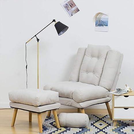 Tumbona Plegable sillón reclinable Silla del Comedor Tocador ...