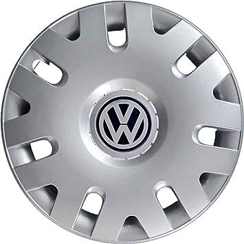 Juego de 4 tapacubos de 35,5 cm (14 pulgadas), para Volkswagen Polo desde 2002, no originales: Amazon.es: Coche y moto