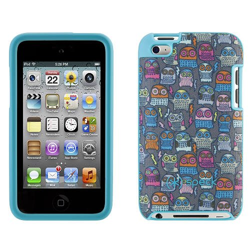 Speck FabShell Case for iPod touch (5th gen.), PowerOwl Teal ()