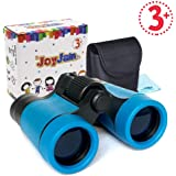 Joyjam Compact Shock Proof Kids Binoculars, Best Gift for Boys & Girls (Multi-Color)