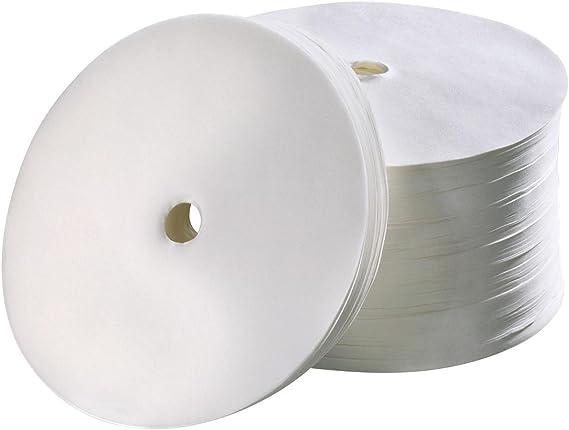 Filtro de papel redondo para cafeteras 250er Diámetro 195 mm para ...