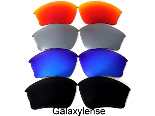 acbb9222d6 Galaxy Replacement Lenses For Oakley Half Jacket XLJ Black Blue Titanium Red  Polarized