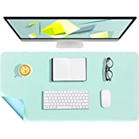 WALNEW Dual-Sided Desk Pad, 80x40cm Waterproof Large Desk Mat Mouse Pad Desk Cover Protector for Office/Home (Apple…