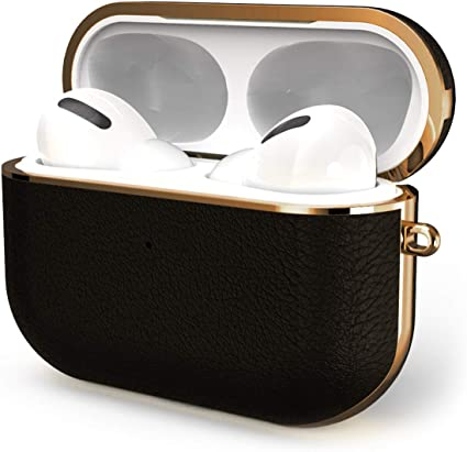 Amazon Com Gaze Airpods Pro Case Cover Leather 2020 Released