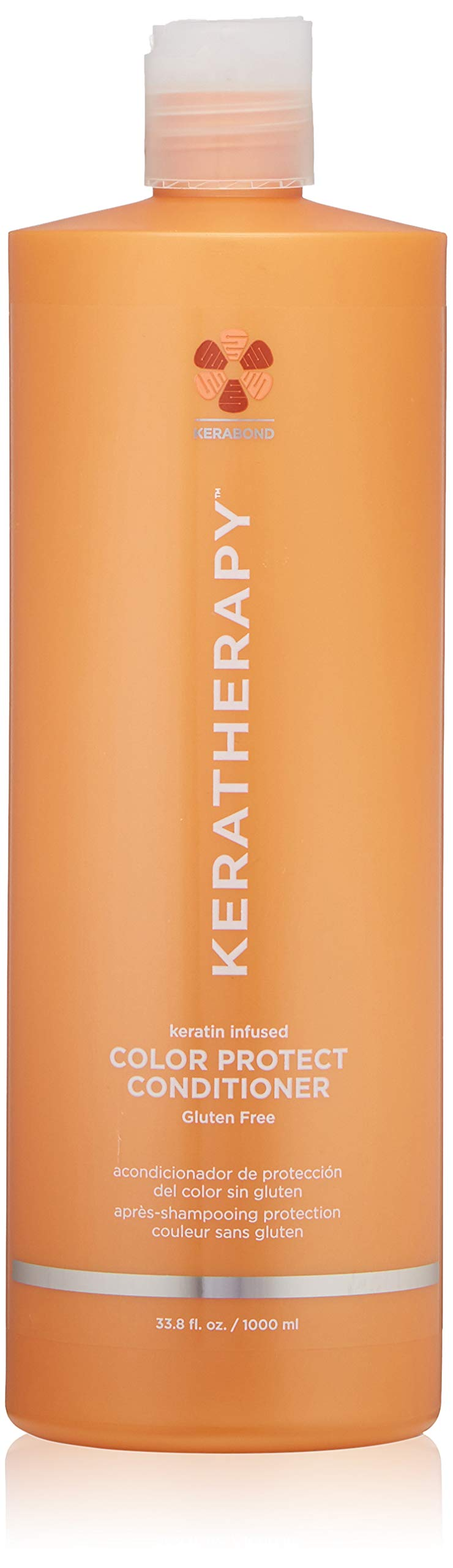 KERATHERAPY Keratin Infused Color Protect Conditioner, 33.8 Fl Oz