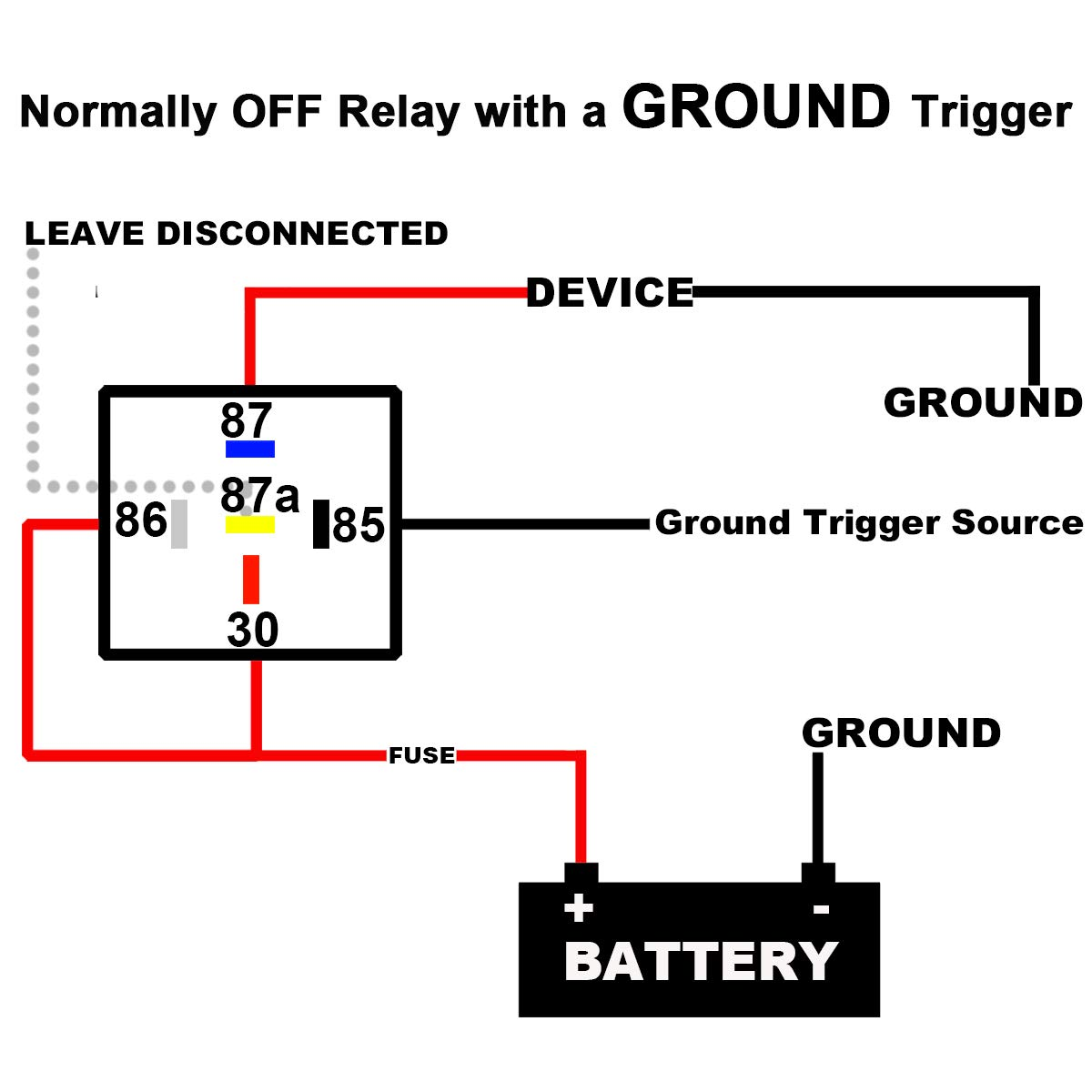 Relay Wiring 87a 87a | Index listing of wiring diagrams