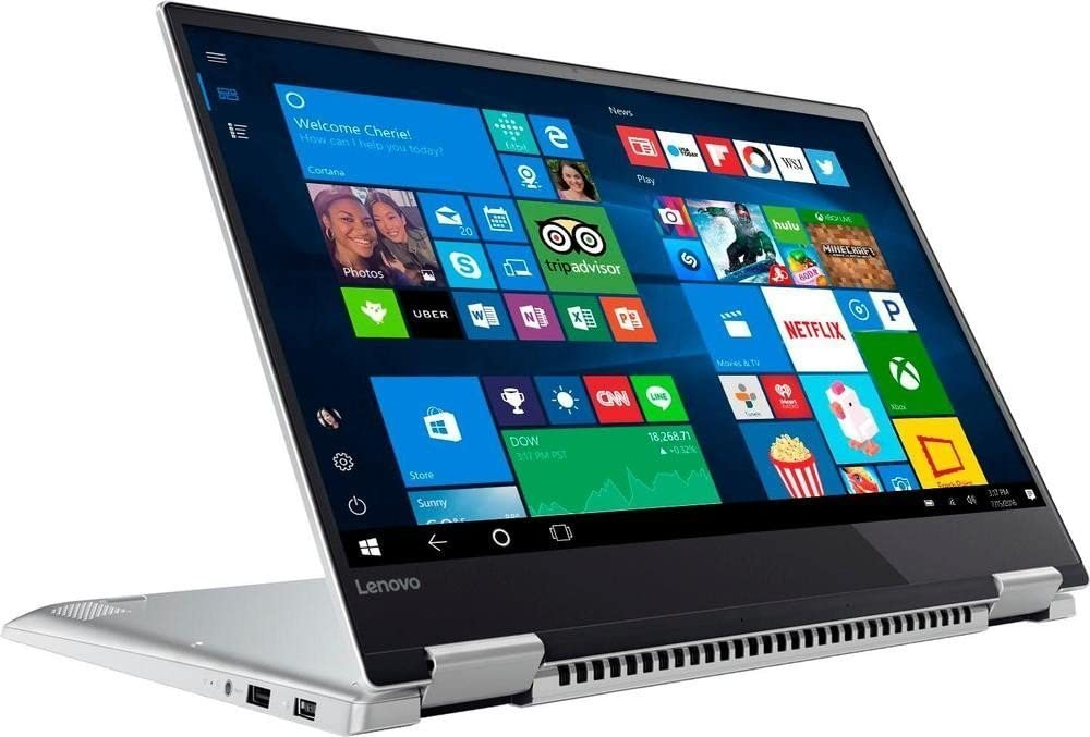 "2018 Lenovo Yoga 720 2 in 1 15.6"" 4K UHD IPS Touchscreen Ultrabook Laptop Computer, Intel Quad-Core i7-7700HQ up to 3.8GHz, 16GB DDR4, 512GB SSD, GTX 1050, Fingerprint Reader, Backlit KB, Windows 10"