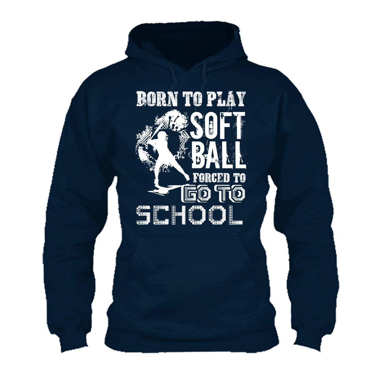 Born to Play Softball Tee Shirt Long Sleeve Shirt
