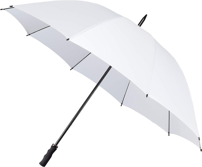 130 cm Wei/ß Impliva Falcone Parapluie Canne Blanc