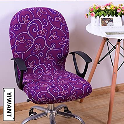 Remarkable Amazon Com Yiwant Stretch Removable Washable Office Chair Machost Co Dining Chair Design Ideas Machostcouk