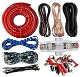 1000 watt amp install kit - American Terminal 4 Gauge Power Wire Amp Kit 1000 Watt Red