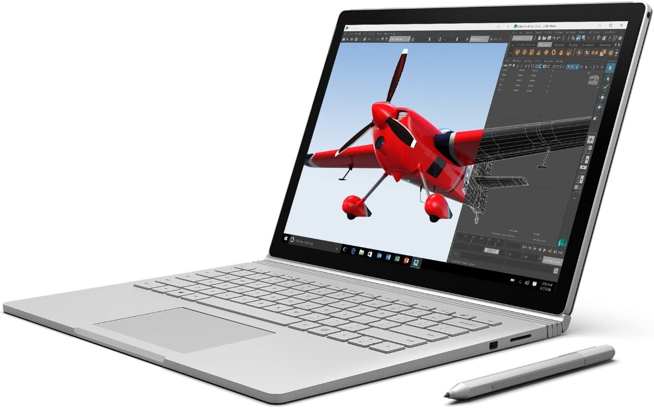 Microsoft Surface Book (512 GB, 16 GB RAM, Intel Core i7, NVIDIA GeForce graphics) (Renewed)